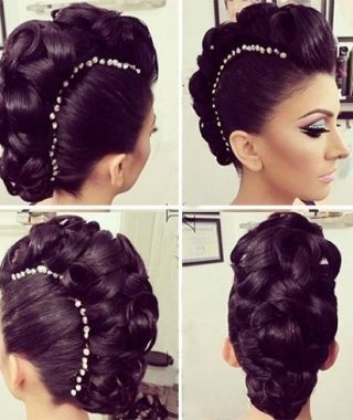 Mohawk Updo Hairstyles For Women
