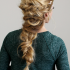Twisted Mermaid Braid Hairstyles