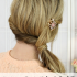 Twisted Side Ponytail Hairstyles