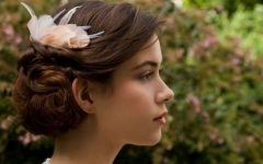 Updos Wedding Hairstyles With Fascinators