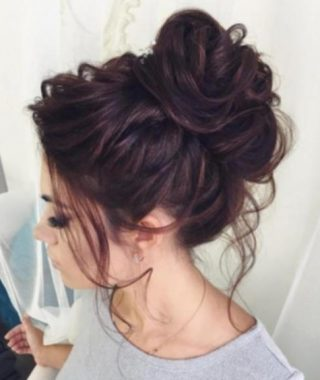 Messy Hair Updo Hairstyles For Long Hair