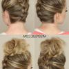 Reverse French Braid Bun Updo Hairstyles (Photo 19 of 25)
