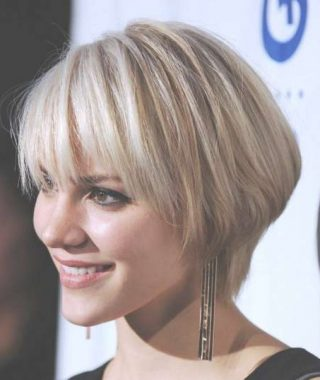 Very Short Bob Hairstyles With Bangs