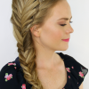 Over-The-Shoulder Mermaid Braid Hairstyles (Photo 2 of 25)
