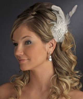 Wedding Guest Hairstyles With Fascinator