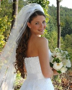 Wedding Hairstyles For Long Hair With Veils And Tiaras