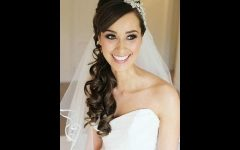 Wedding Hairstyles For Long Hair With Veil And Tiara