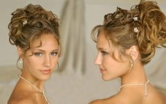Updos For Medium Length Curly Hair