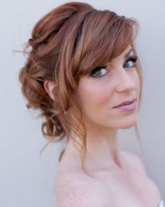 Wedding Hairstyles For Short Hair With Fringe