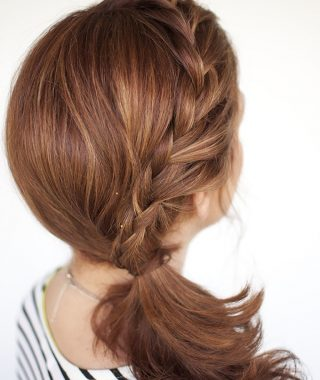 Braided Side Ponytail Hairstyles
