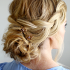 Plaited Low Bun Braid Hairstyles (Photo 15 of 25)