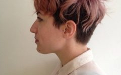 Tousled Pixie Hairstyles With Undercut